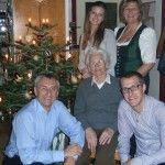 Wolfgang, Maria und Christopher, Christiane und Gudrun Haas