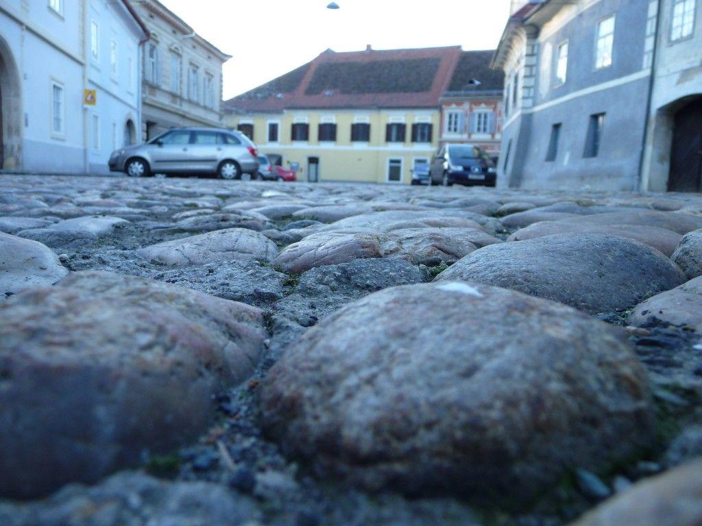 Murgasse in Bad Radkersburg mit Murnockerl