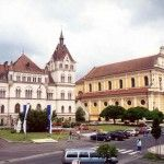 Villa Hold und Stadtpfarrkirche Feldbach
