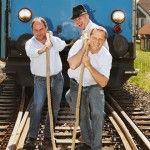 Voll am Zug