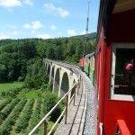 Fahrt mit der Feistritztalbahn