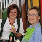 Roswitha Haas und Karin Leitgeb