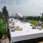 Mittagstafel beim Gasthaus Gether - Übersbach