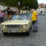 ein Mustang aus Wels