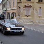 Gaugl Lucie und Elisabeth im Mercedes 300 SL