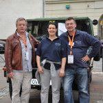 Kotzbeck Thomas und Bauernhofer Romana im Jeep Wrangler YJ
