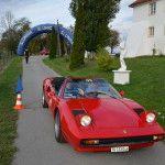 Gastgeber Milan Herzog und Christopher Haas im Ferrari 308 GTB Spider