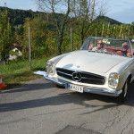 Neuhold Karl und Nadja im Mercedes Benz 190 E