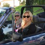 Lassacher Hannah und Hiebaum Jessie im VW Golf Cabrio